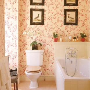 New England-style Georgian bathroom